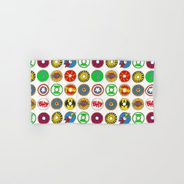 Superhero Donuts Hand & Bath Towel