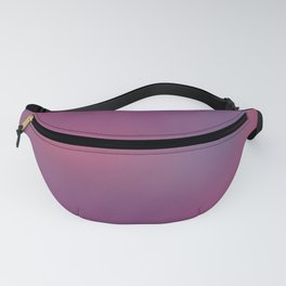 Deep Berry Purple Abstract Sunset Fanny Pack