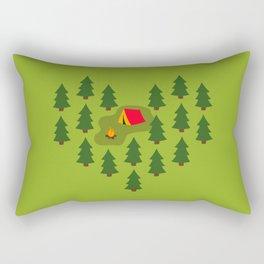Camping Love Rectangular Pillow