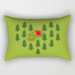 Camping Love Rectangular Pillow