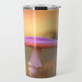 Fly agaric mushroom Travel Mug