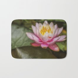 Water Lily Blossom Bath Mat