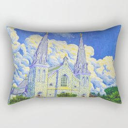 St Thomas of Villanova Chapel Rectangular Pillow