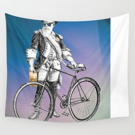 Every weekend I take the fixed gear to the farmers market for Vegan Artisan Granola. Wall Tapestry
