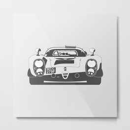 Alfa Romeo 335 Daytona Metal Print
