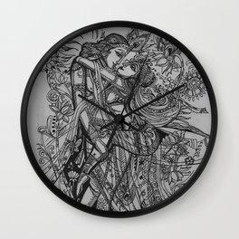 Good Luck Series: Radha-Krishna Wall Clock