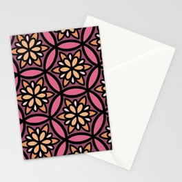 Coral Floral II Stationery Cards