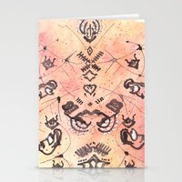 budi satria kwan Stationery Cards featuring Satria Manah Batik by Lalitia A. Rakhmanda