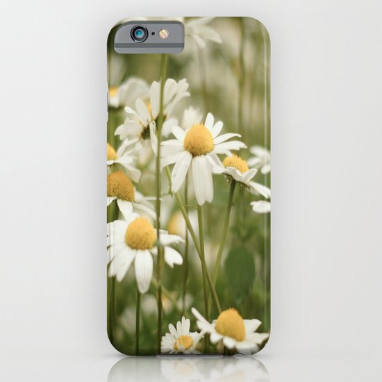 White Flowers iPhone & iPod Case