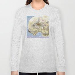 White buffalo calf Long Sleeve T-shirt