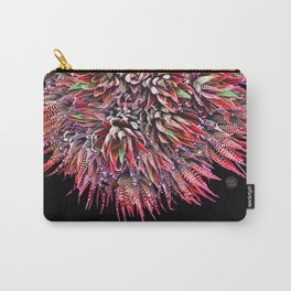 Cactus Crown 2. Red & Green #decor #buyart Carry-All Pouch
