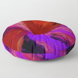 Abstract Maelstrom II by Robert S. Lee Floor Pillow