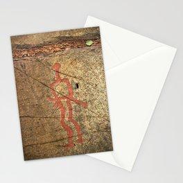 Pictogram at Vitlycke, Sweden 10 Stationery Cards