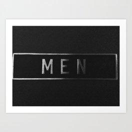Men Art Print