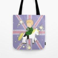 hetalia Tote Bags featuring FaeriEngland by gohe1090