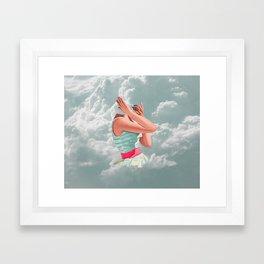 chin up, buttercup Framed Art Print