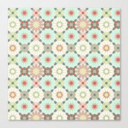moroccan light zellij Canvas Print
