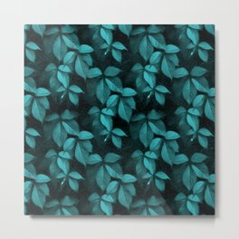 Foliage Pattern II Metal Print
