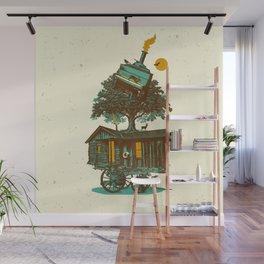 TREE CABIN Wall Mural