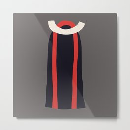 Fashion Designer: minimalist dress Metal Print