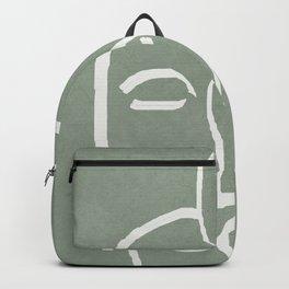 Abstract Masks Backpack