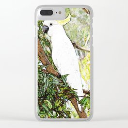 Cockatoo Clear iPhone Case