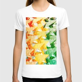 Pattern colorful T-shirt