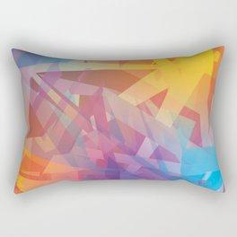 Amsterdam Abstract Rectangular Pillow