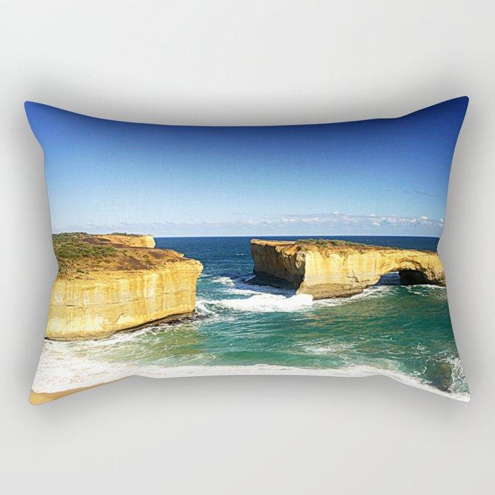 London Bridge  Rectangular Pillow