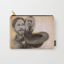 Jared Leto and Ripley the monkey Carry-All Pouch