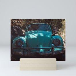 Beetle Bug car Mini Art Print