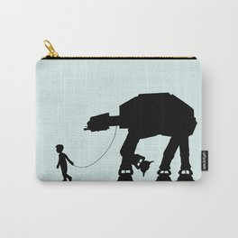 A Boy and His AT-AT Carry-All Pouch