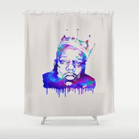 notorious Shower Curtains featuring Notorious by Fimbis