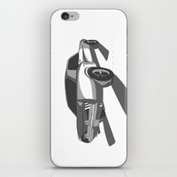 mustang iPhone & iPod Skins featuring Mustang by Mister Abigail