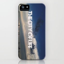 The city of life // #DubaiSeries iPhone Case