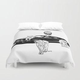 They Will Come For You Duvet Cover
