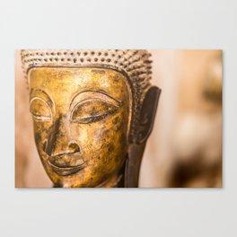 Wat Si Saket Buddhas VIII, Vientiane, Laos Canvas Print