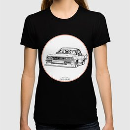 Crazy Car Art 0209 T-shirt
