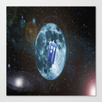 dr who Canvas Prints featuring dr who by store2u