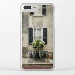 South of Broad - Window Box Clear iPhone Case