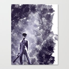 Purple Guy Canvas Print