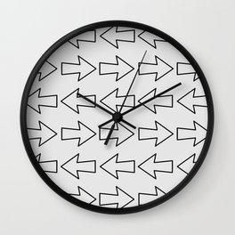 Arrow pattern  Wall Clock