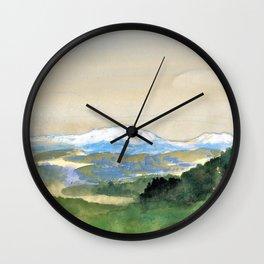 Landscape - Arthur Bowen Davies Wall Clock