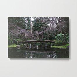 Nitobe Garden Metal Print