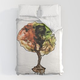 A Tree of Life Duvet Cover