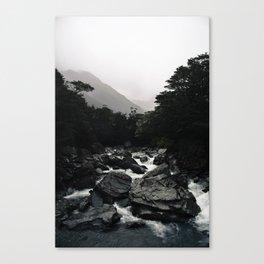 Routeburn River Canvas Print