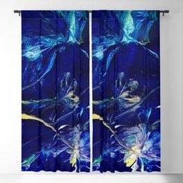 Water Nymph's Garden Blackout Curtain