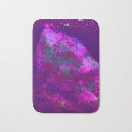 """Cellular Migration"" (Pink/Purple/Green) Digital Painting // Fine Art Print Bath Mat"
