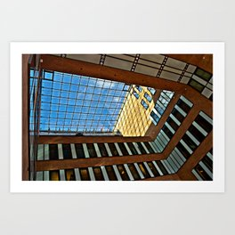 Modern office building in Hamburg Art Print