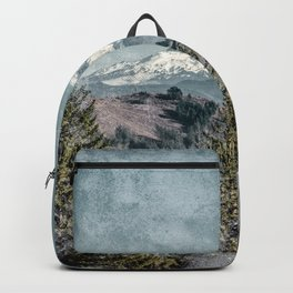 Frosty Mountain - Nature Photography Backpack